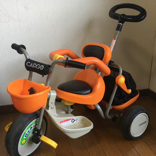 アイデス CARGO 三輪車 限定カラーモデル オレンジ