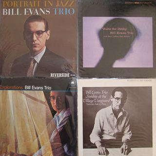 ジャズのLPレコード12枚 ビル・エヴァンス ジョン・コールトレーン
