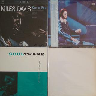 ジャズのLPレコード12枚 ビル・エヴァンス ジョン・コールトレーン - その他