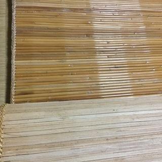 更に値下げです❣️❣️竹カーペット❣️夏涼しく