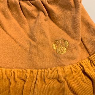 ディズニー スカート付レギンス 90cm