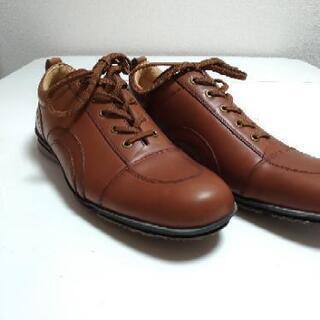 革靴 25.0 未使用