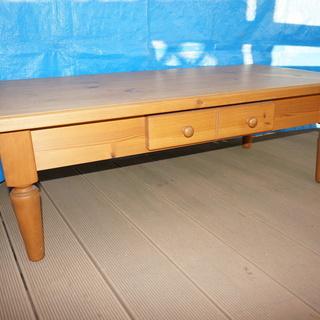 シャルドネ家具の座卓テーブルです