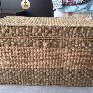 編み込み 収納家具 収納箱 収納ボックス ①