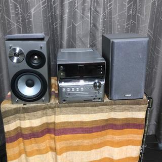 Victor マイクロコンポ(カセット、MD、CD、ラジオ)