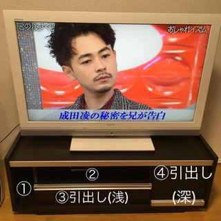 【SONY40型&テレビ台】セット価格です🙇🏻♀️