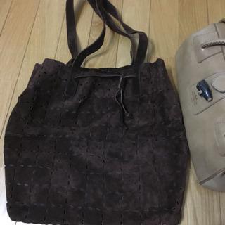 イタリア製美品❣️500→300円❗️レザー素材のバッグ、お買い...