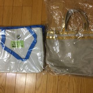 500→300円‼️バッグ、2個セット、金スパンコール