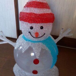 【美品】雪だるま