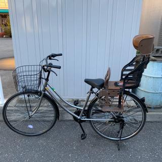 [年末値下げ]自転車(子供乗せカゴ付き なしも可能!)