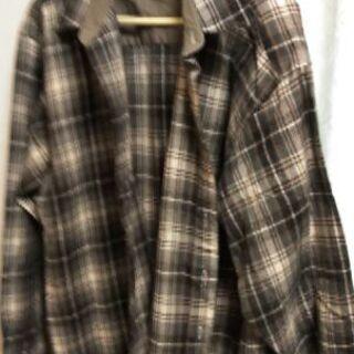 【メンズ古着】チェック・ワークシャツ、ニット