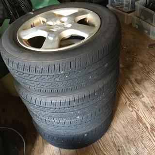 175/65R14  フィット 純正ホイール付タイヤ