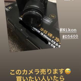 Nikon D5600 18-55VRレンズキット中古