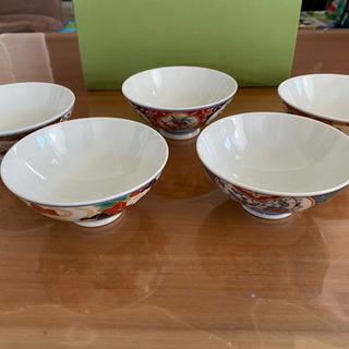 【未使用】有田焼ご飯茶碗5個セット