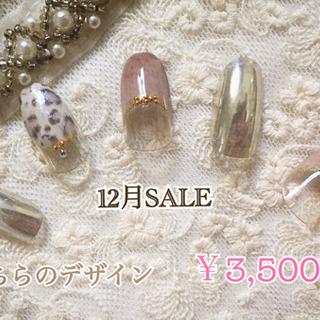 ジェルネイル限定デザイン3500円