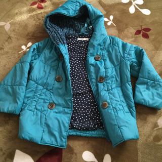 ライトオンの子供用綿入りコート