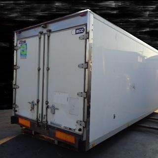 トラックコンテナ 箱 4t 6360x2310x2350 横扉付...