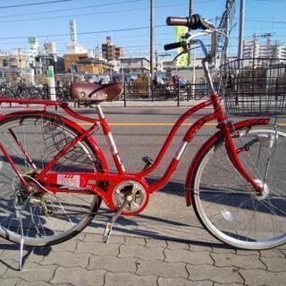 ♪ジモティー特価♪装備充実!!赤いフレームがきれいなBAA規格適...
