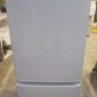 三菱 冷蔵庫 ボトム冷凍室 右開き 146L ピュアシルバー M...