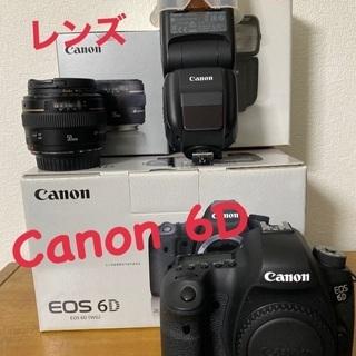 一眼レフカメラ Canon 6d セット