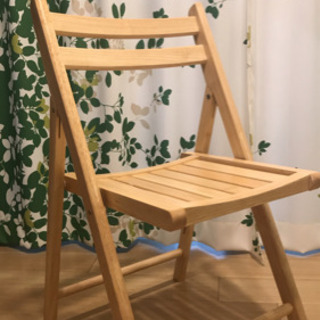 【新品・未使用】折りたたみ椅子
