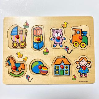 【美品】木のはめ込みパズル