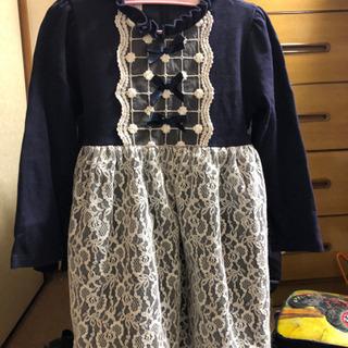 中古の5-6歳の韓国製ドレス