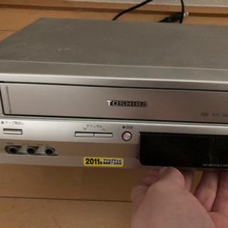 東芝VTR一体型DVDビデオプレーヤー