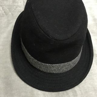 新品中折れ帽子