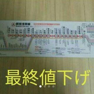 都営浅草線路線図