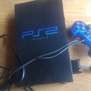 PS2本体 メモリーカード付き
