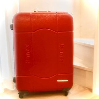 大きいスーツケース/キャリーバッグ/赤/レッド