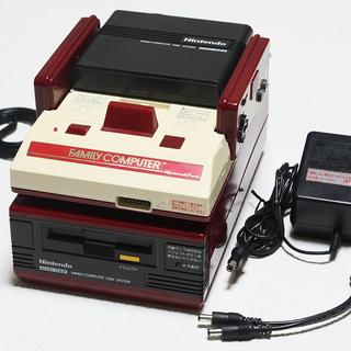 初代ファミコン(AV出力仕様)&ディスクシステム ★クリーニング...