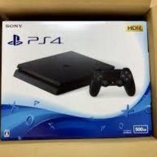 PlayStation4ジェットブラック500GB 新品未開封です!