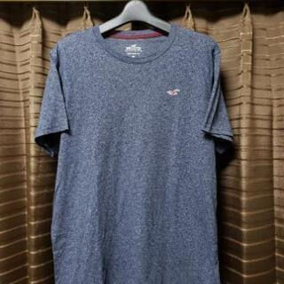 [国内正規品] Hollister ワンポイント刺繍 半袖 Tシャツ