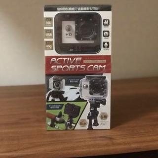 新品未開封の小型カメラになります