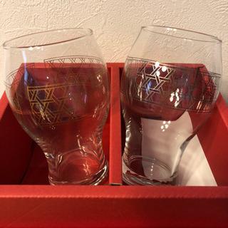 新品未使用! 値下げ!株主限定 ガラスコップ 二個入りを2セット