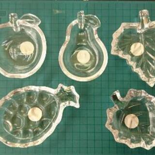 ガラス小皿 五枚セット