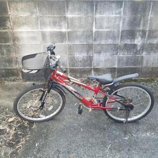 自転車①レッド
