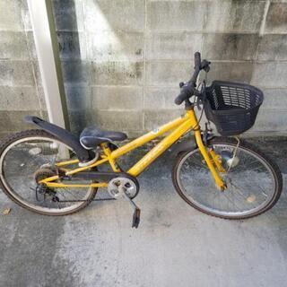 自転車②イエロー