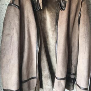 メンズ ブラウンコート