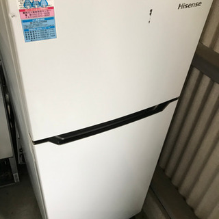 お薦め品‼️Hisense 冷蔵庫 120L 2016年