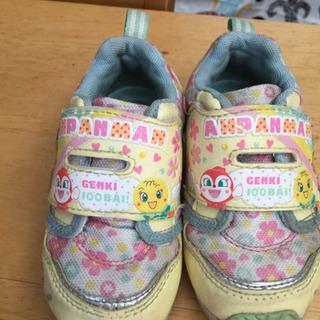 シューズ 靴 スニーカー  アンパマン 14センチ