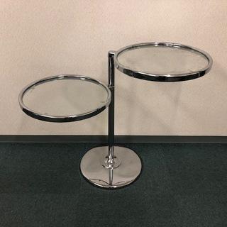 チェリー LT-79/SY-896 ガラスサイドテーブル