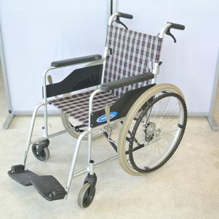 車椅子 取説付き 折りたたみ可(背折れ) 耐荷重 100kg 個...