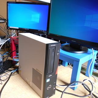 デスクトップパソコン 富士通 ESPRIMO i5-3470 W...
