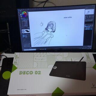 ペンタブDECO02とペイントソフトと替芯