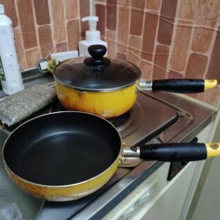 鍋とフライパンセット 蓋付き IH対応