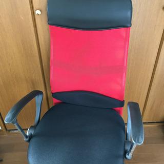 メッシュ生地の椅子