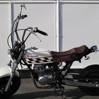 バイク ホンダ・エイプ AC16 50cc キックスタータ ホワイト